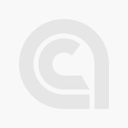 "EZ-Aim Hardrock AR500 IPSC Silhouette Shooting Target, 9""W x 14.875H"", White/Red/Black"