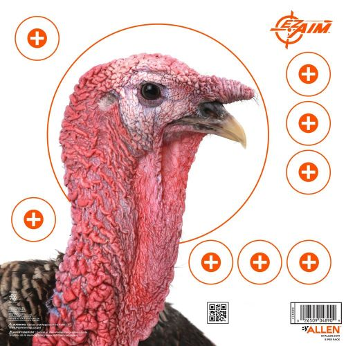 EZ-Aim Paper Four Color Turkey Patterning Target