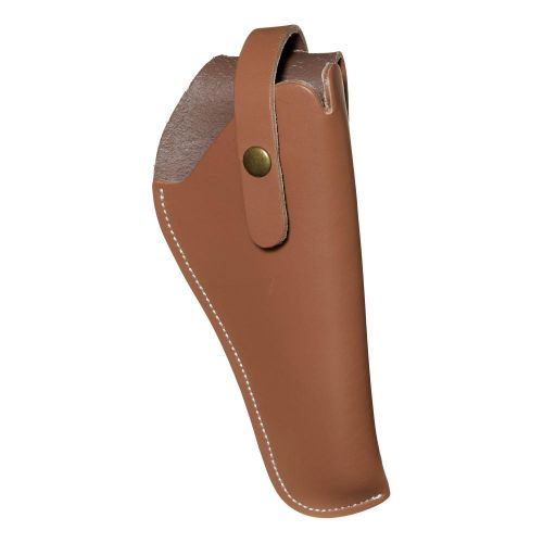 """Allen Company Red Mesa Leather Revolver Holster, 5.5-7"""" Barrel Revolvers, Brown Leather"""