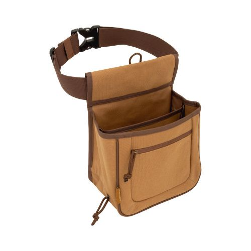 "Allen Company Rival Double Compartment Shell Bag & 52"" Waist Belt, Tan"
