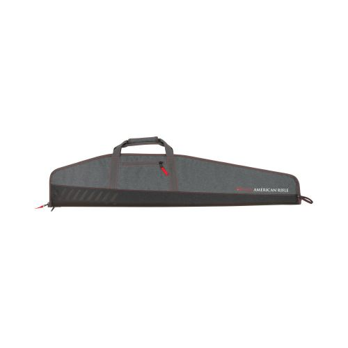"Ruger American Rifle Lockable Gun Case, 46""L Scoped Rifles, Dark Heather Gray"