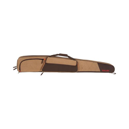 "Allen Company 52"" Humbolt Shotgun Case, Tan Cotton Canvas Exterior with Brown Endura Accents"
