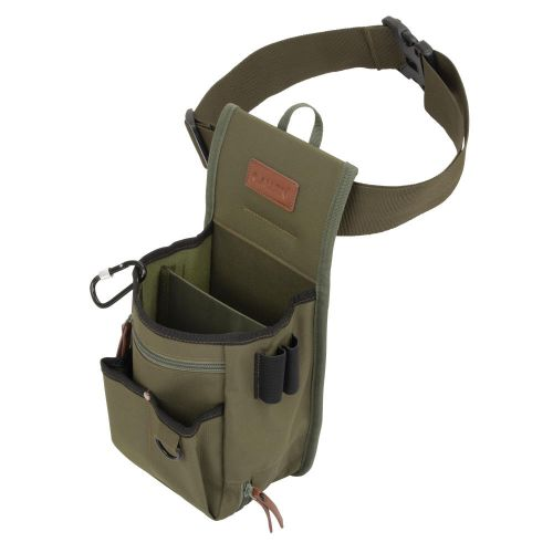 "Allen Company Triumph Rip-Stop Double Compartment Shell Bag & 52"" Waist Belt, Olive"