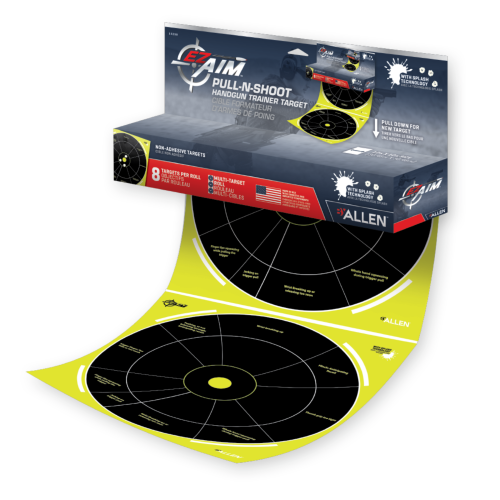 EZ-Aim Pull-N-Shoot Splash Handgun Trainer Target