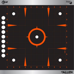 EZ-Aim Reflective Adhesive Sight Grid Target