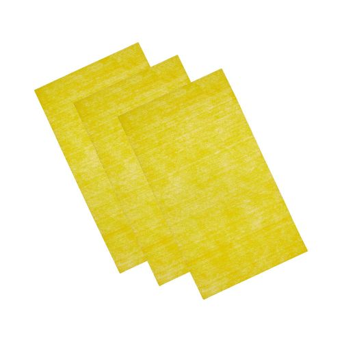 Krome Disposable Gun Cleaning Wipes, 3-Wipes per Pack, Yellow