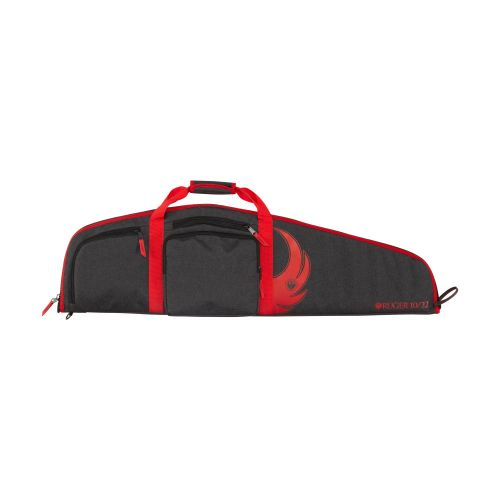 """Ruger Yuma 40"""" 10/22 Rifle Case, Black/Red, by Allen Company"""