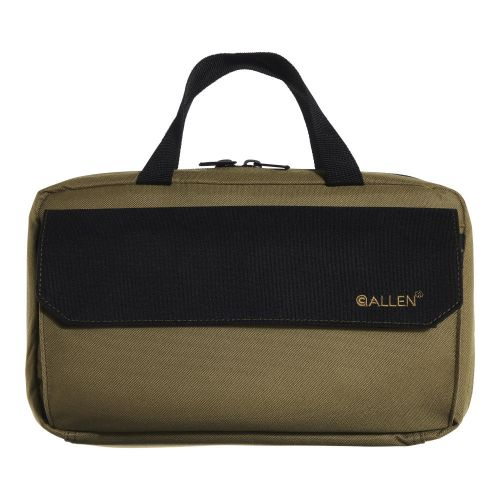 Allen Company Jackson Attaché Handgun Case, Tan/Gray