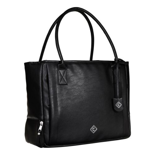 Girls With Guns Concealed Carry Casual Cosmic Tote, Lockable Concealed Carry, Black