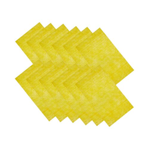 Krome Disposable Gun Cleaning Wipes, 12-Wipes per Pack, Yellow