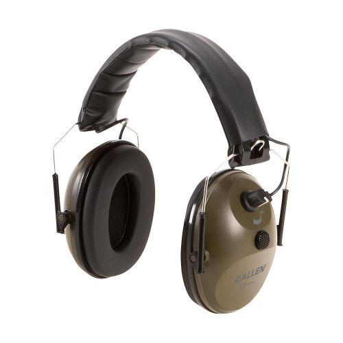 Single Microphone Emuff Hearing Protection