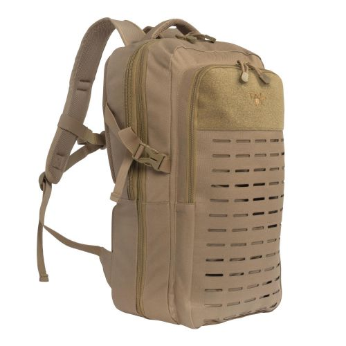 Tac-Six Trench Tactical Expandable Backpack, Die-Cut MOLLE System, Coyote