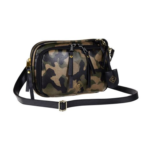 Girls With Guns Concealed Casual Tomboy Clutch Purse, Lockable Concealed Carry, Ambidextrous, Camo