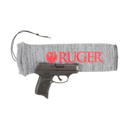 "Ruger Silicone Treated 14"" Stretch Knit Handgun Sock, Gray"
